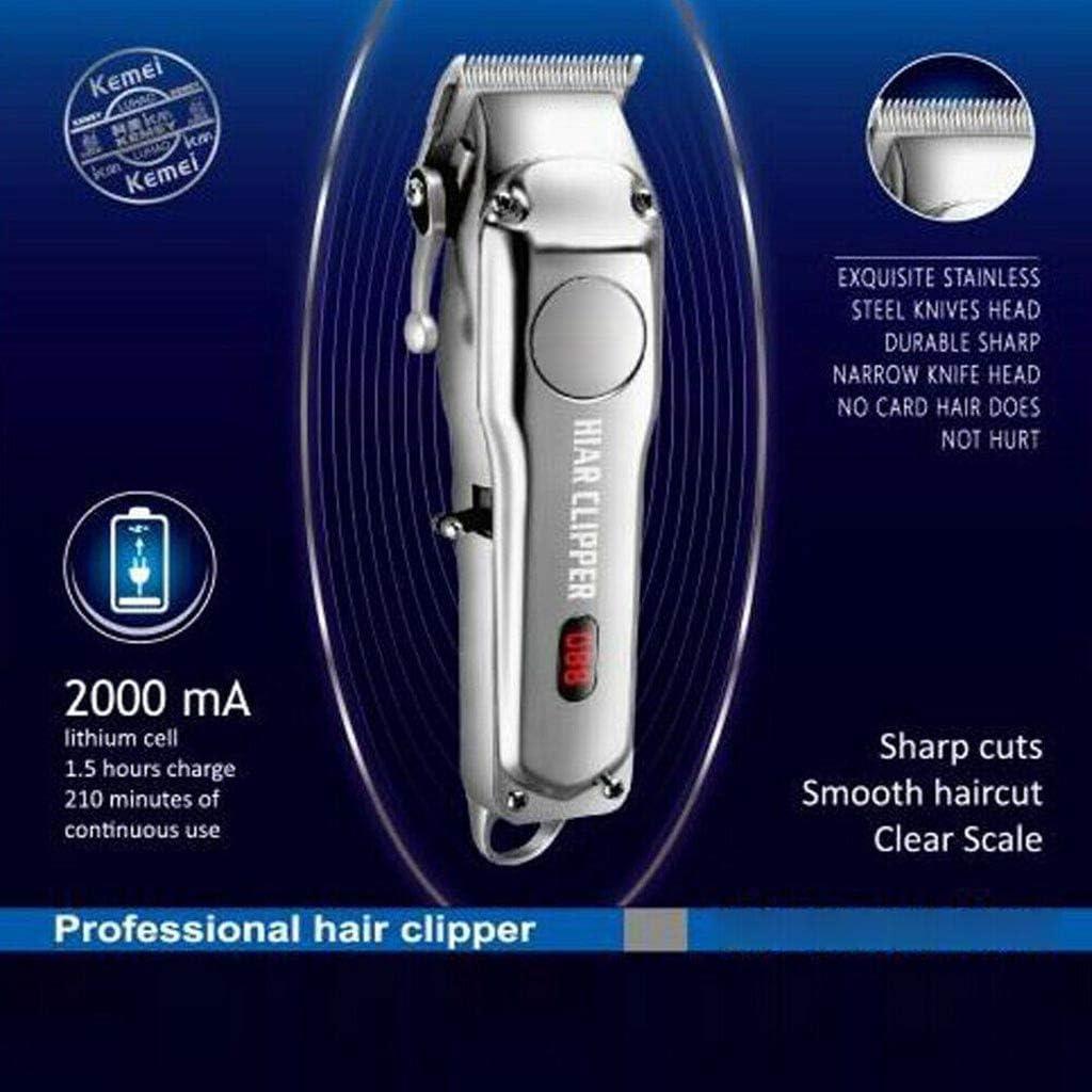 DressLksnf Cortadora de Cabello Eléctrica Todo En Uno para Hombres con Pantalla LCD Afeitadora Eléctrica para Hombres: Amazon.es: Ropa y accesorios