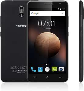Móviles y Smartphones Libres,HAFURY UMAX Teléfonos Móviles Chinos Android 7.0-Smartphone Libre 3G Doble SIM de Espera dual,Dual Micro SIM(6.0 Pulgadas 3G Phablet MTK6580 Quad Core 1.3GHz 2GB RAM+16GB ROM, 5.0MP + 13.0MP