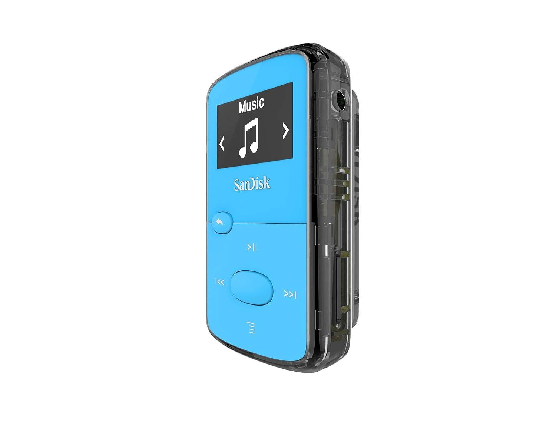 microSD card slot and FM Radio SDMX26-008G-G46R Red SanDisk 8GB Clip Jam MP3 Player