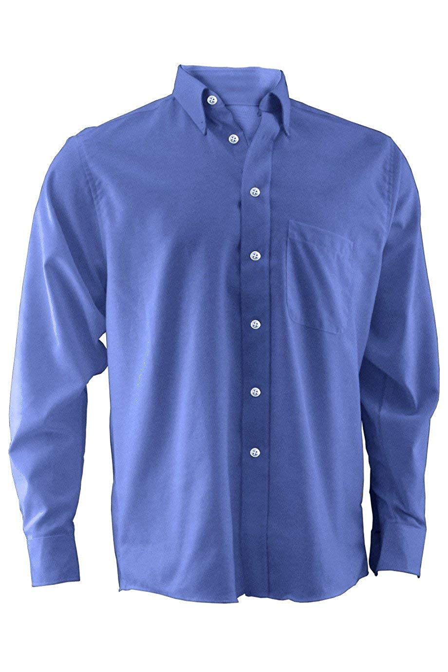 Mens Button Down Long Sleeve Quality Oxford Shirt