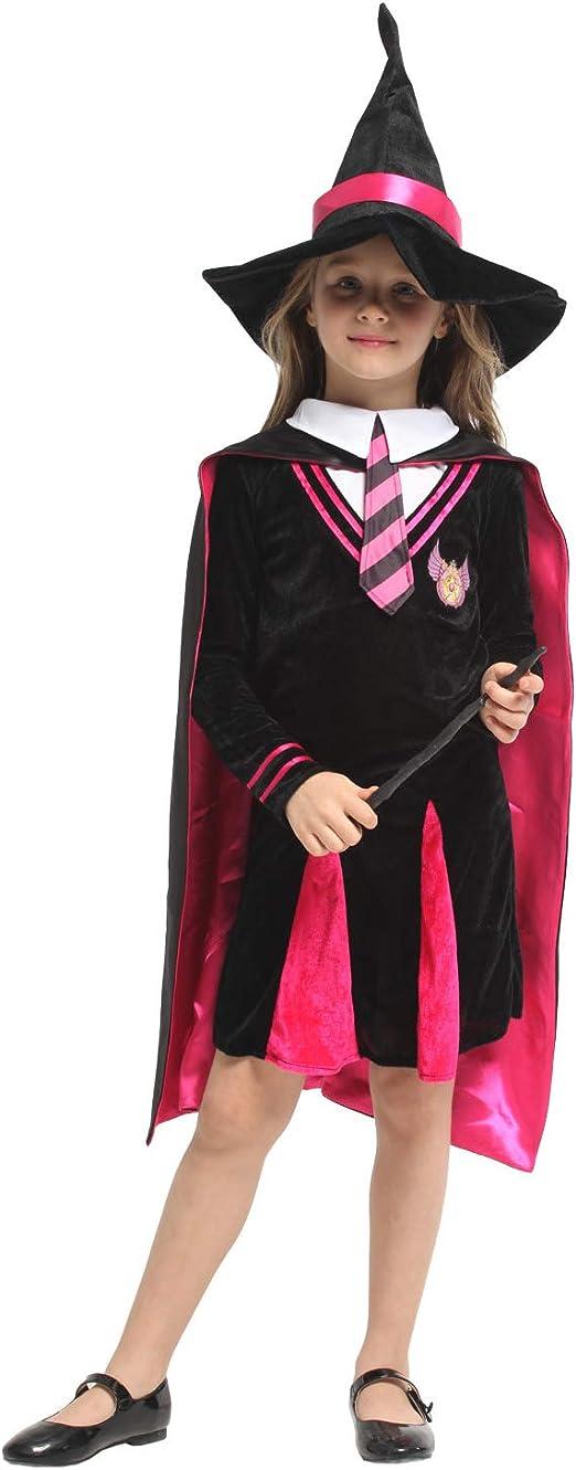 Disfraz de disfraces de Halloween Capa de bruja para niños Harry ...