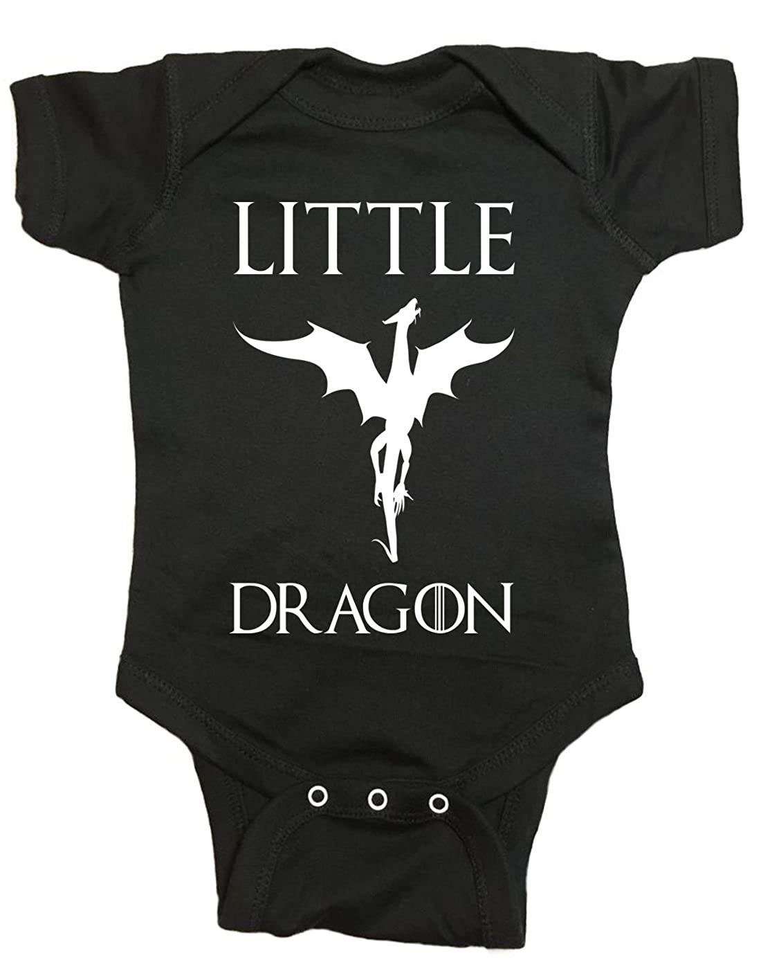 Brain Juice Tees Little Dragon Game of Thrones Baby One Piece
