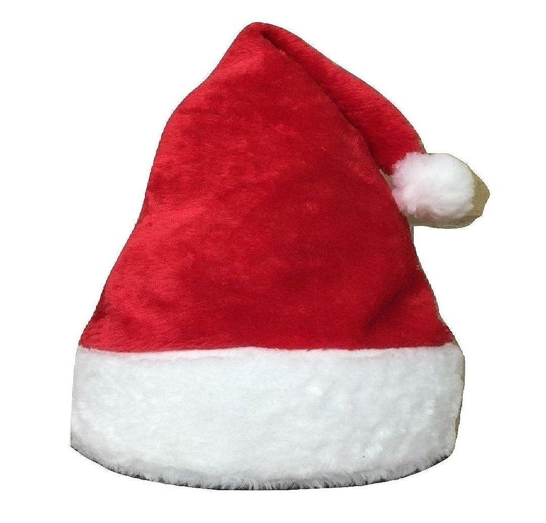 L&L® Red Baby Kid Christmas Xmas Santa Hat 100% Polyester Fleece UK
