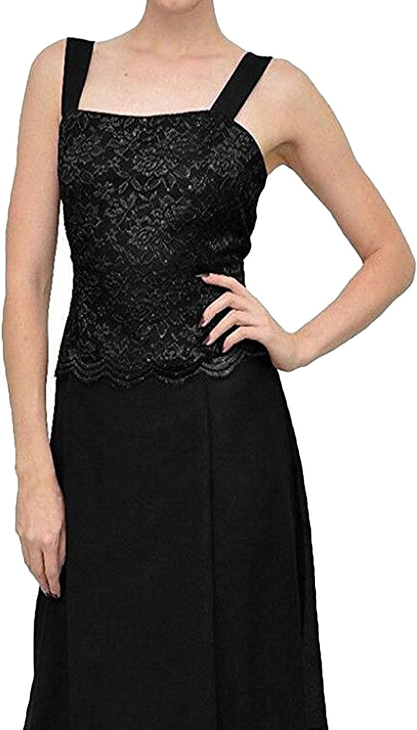 Pretygirl Women's Lace Mother of The Bride Prom Dress W/ Jacket Red