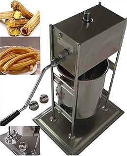 Baoshishan - Máquina comercial para hacer churros, 7 L, manual, equipo con marcado