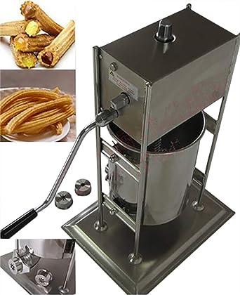 Baoshishan - Máquina comercial para hacer churros, 7 L, manual, equipo