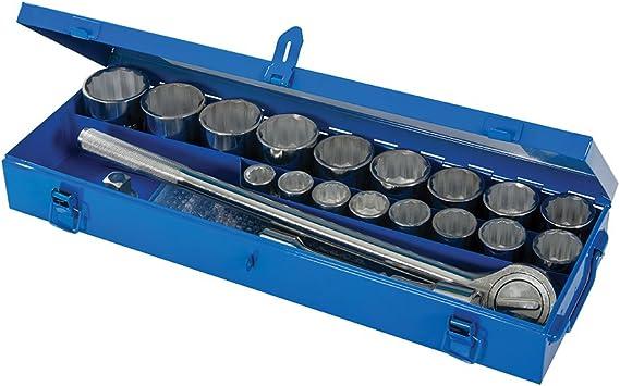 Silverline 633663 Juego de Llaves de Vaso de 3/4