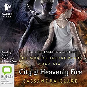City of Heavenly Fire Audiobook