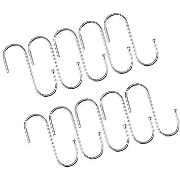 Amazonde Non Brand Magideal 10pcs S Haken Metall Haken S Förmige