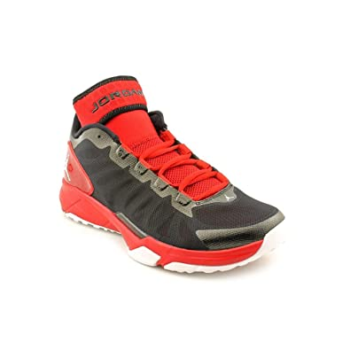 1e7f3d9f9727 Jordan Trunner Dominate Pro Mens Size 11 Black Mesh Basketball Shoes Uk 10   Amazon.co.uk  Shoes   Bags