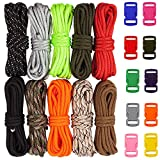 Zacro 400lb Survival Paracord ComboCraftingKits in 10ft...
