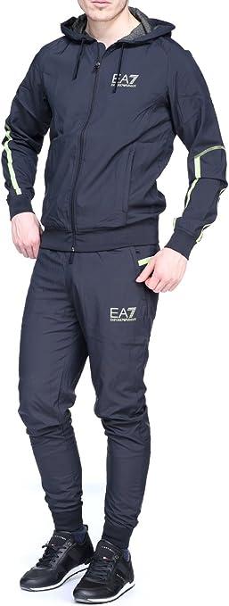 Emporio Armani EA7 - Chándal para hombres, color azul, negro ...