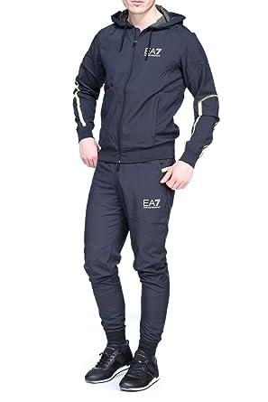 Emporio Armani EA7 Kombination Hose und Sweatshirt Herren Fashion Blu Gr.  XS, schwarz  Amazon.de  Bekleidung 53b8262c00