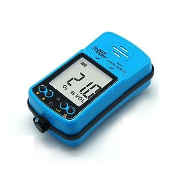 Oxígeno analizador de detector de fugas de gas Rango de medición: 0 ~ 30% Vol: Amazon.es: Bricolaje y herramientas