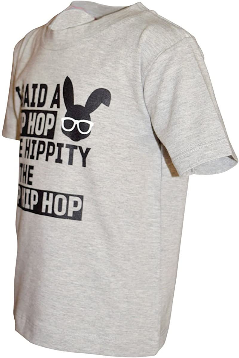 Unique Baby Boys Hip Hop Easter Bunny Shirt