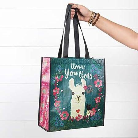 Natural Life Llove You llots llama bolsa de regalo hecho de ...