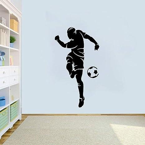 SLQUIET Portero de moda pegatinas de fútbol decoración del ...