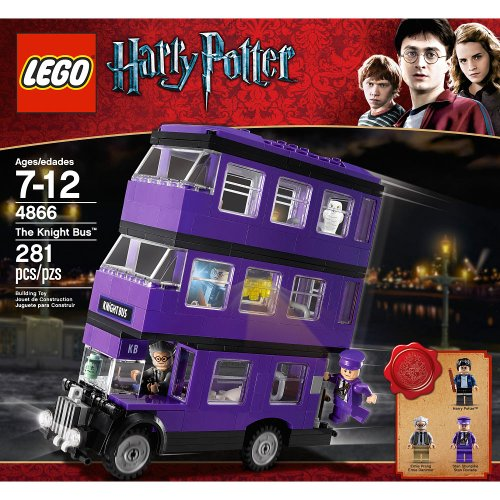LEGO Harry Potter the Knight Bus (4866) (Age: 7 - 12 years)The awesome triple-decker Knight Bus features wheels that really roll!