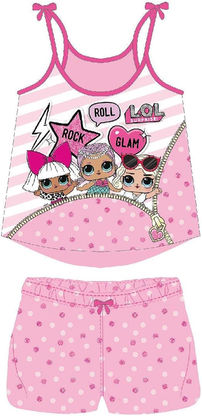 Cerdá Pijama Corto Algodón LOL Conjuntos Niñas: Amazon.es: Ropa y accesorios