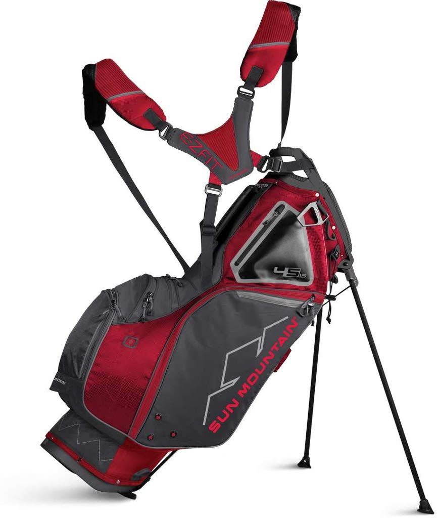Sun Mountain 2019 4.5 Ls Stand Bag Charcoal/Red