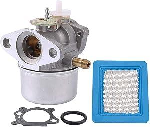 Powtol 799869 Carburetor Lawnmower 792253 497586 499059 Pressure Washer carborator Rotary 14112 Oregon 50-658 for Briggs & Stratton Carburetor (799869)