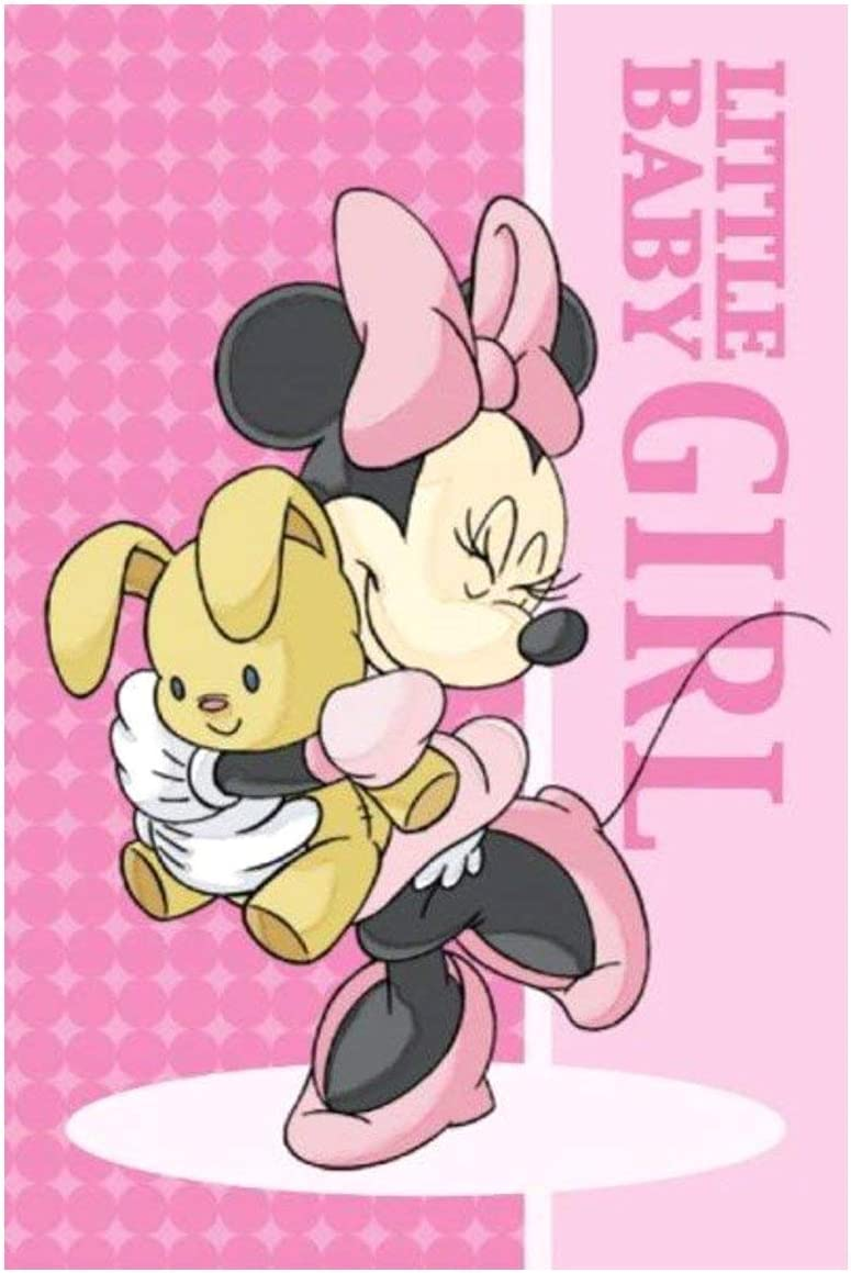 Minnie Disney MS01 Lot de 2 serviettes pour enfant 100 /% coton MS06