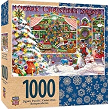 MasterPieces Holiday Merry Christmas Shop 1000 Piece Jigsaw Puzzle by Janet Kruskamp