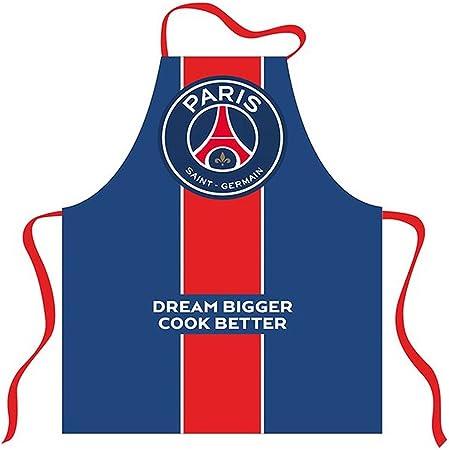 Psg Official Paris Saint Germain Kitchen Apron Blue Amazon Co Uk Kitchen Home