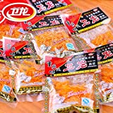 WEI LONG Chinese Special Snack Food: Spicy Gluten Wei Long La Tiao 10 Packages
