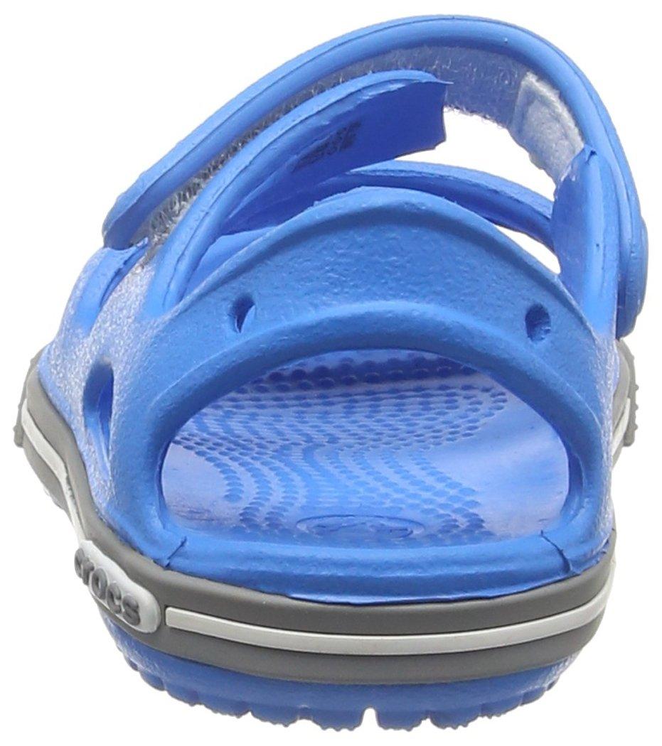 Crocs Kid's Boys and Girls Crocband II Sandal | Pre School Flat, Ocean/Smoke 8 M US Toddler by Crocs (Image #2)