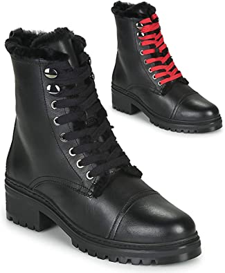 Amazon Com Unisa Irache Ankle Boots Boots Women Black Mid Boots Shoes