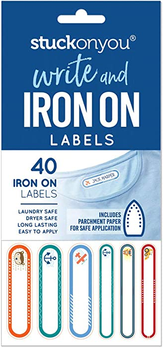 Top 9 Iron On Laundry Tags