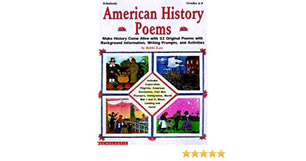 Counting Number worksheets free us history worksheets : Amazon.com: American History Poems (Grades 4-8) (9780590499736 ...