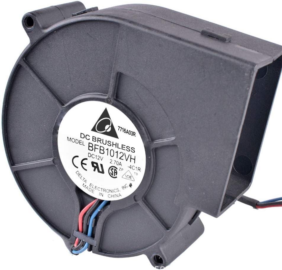 Zantec Ventola Ventola centrifuga DC Ventola di Scarico per impianto di Riscaldamento per Barbecue