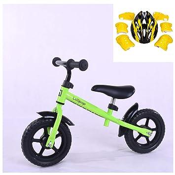 GSDZN - Bicicleta Sin Pedales para Niños, Rueda EVA No Inflable, Capacidad De 50