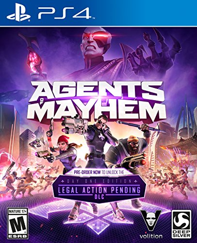 Citizens And Saints Christmas - Agents of Mayhem - PlayStation 4