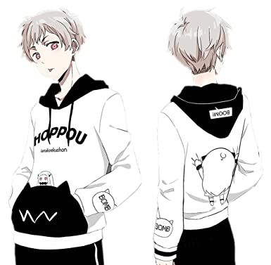 Game Hoodie Cosplay Costume Cute Anime Cotton Unisex Pullover Hooded