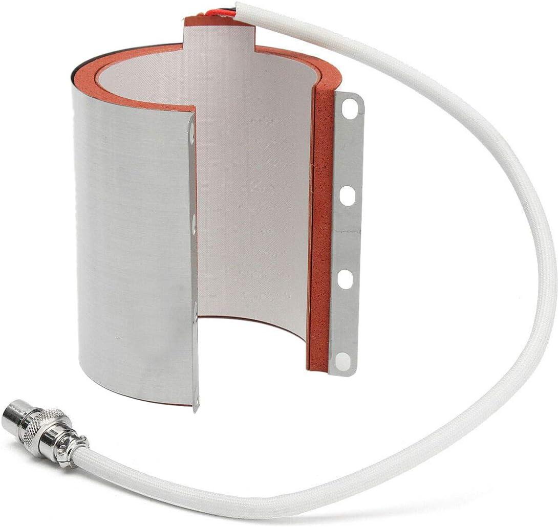 Growment 11Oz Varios Accesorios de Taza para M/áQuina de Prensa por Calor de Sublimaci/óN de Transferencia de Acero Inoxidable