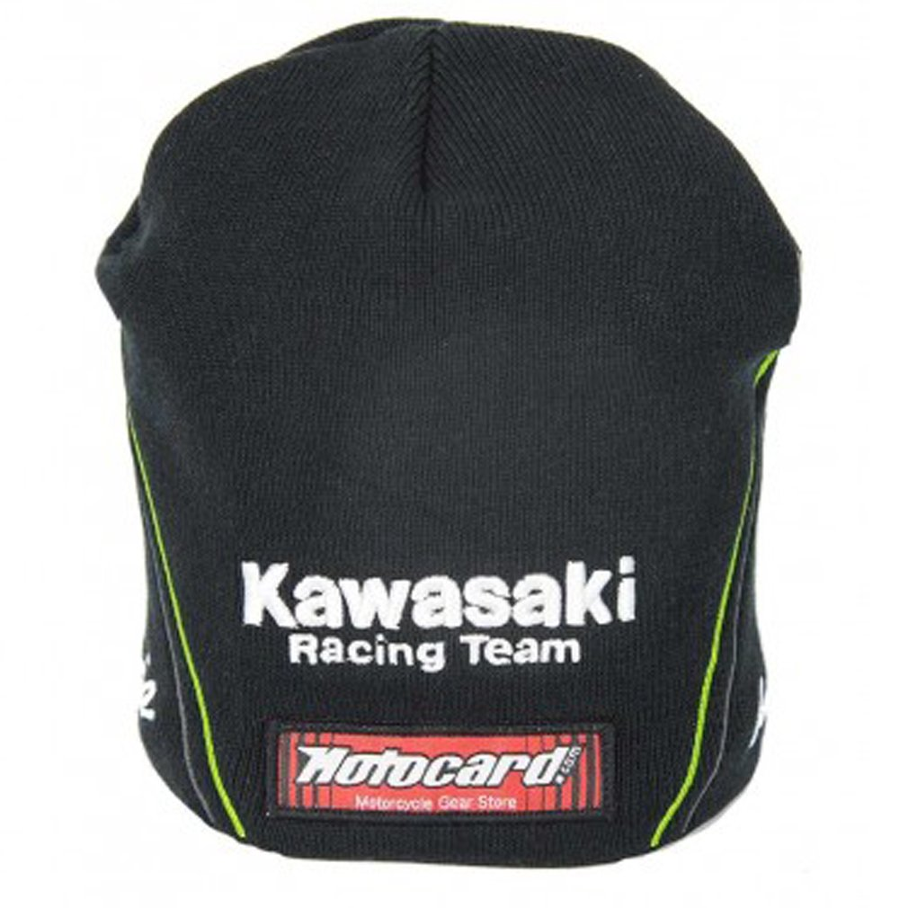 Kawasaki Racing WSBK Teamwear Beanie Black Official 2017   B01E5T6JII