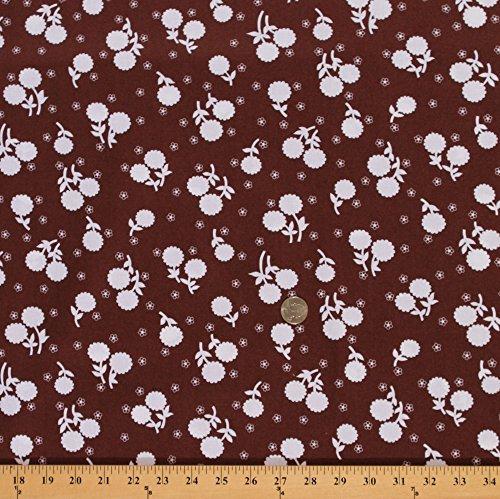Cotton Jennifer Paganelli Girls World Vibe Flower Floral Fabric