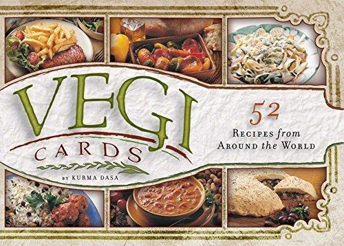 Vegi Cards: 52 Recipes from Around the World by Kurma Dasa