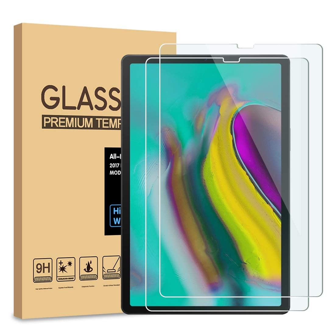 Vidrio templado para Samsung Galaxy Tab S5e (PULEN)