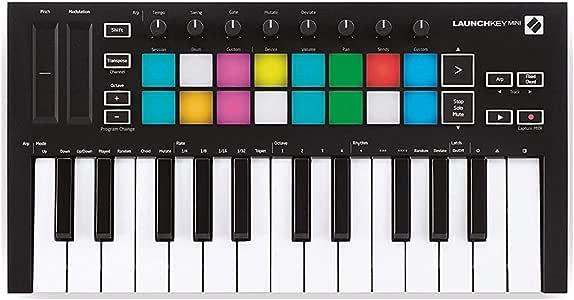 Novation Launchkey Mini [MK3] 25-Mini-Key MIDI Keyboard