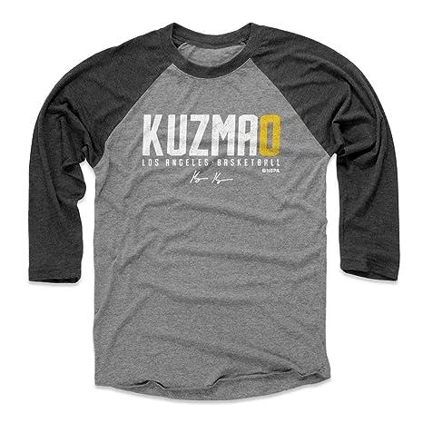 new style b07aa 3e8a7 Amazon.com : 500 LEVEL Kyle Kuzma Baseball Tee Shirt - Los ...