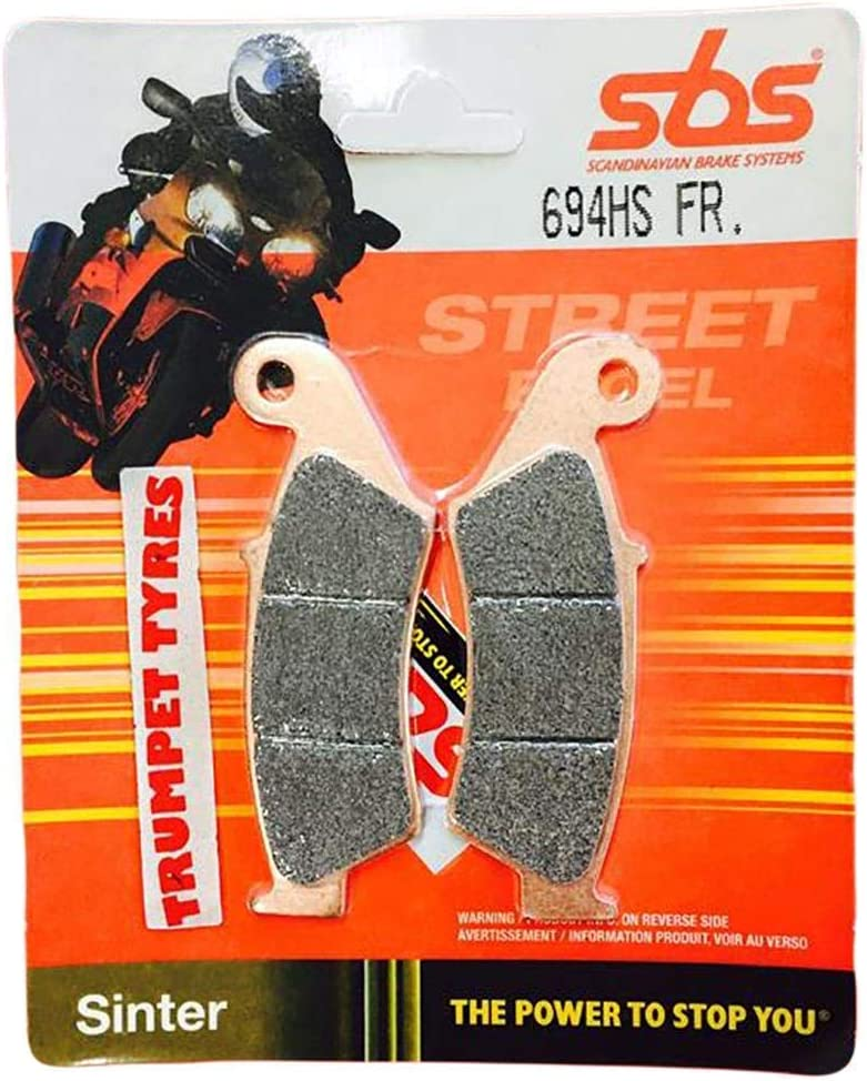 Yamaha WR 250 F WR250F 01 02 03 04 05 06 07 08 09 10 11 12 13 SBS Performance Front Fast Road Sintered Sinter Brake Pads Set Genuine OE Quality 694HS
