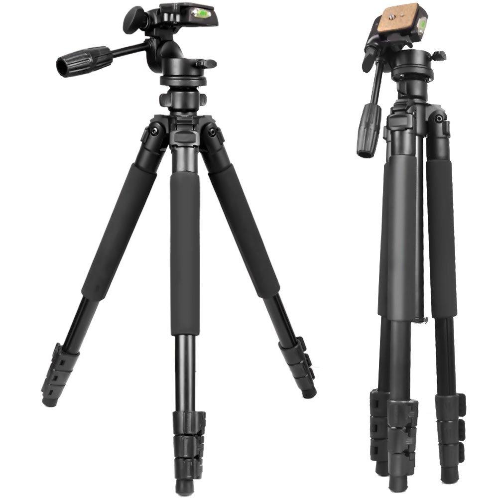 Gosky三脚 – 旅行ポータブル三脚for Spottingスコープ、双眼鏡、ビデオカメラ、またはSLRカメラ B07CPMMNJC