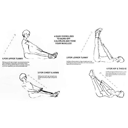 IPOTCH Bauchtrainer Fitnessger/ä Muskeltrainer f/ür das Bauchmuskeltraining zu Hause