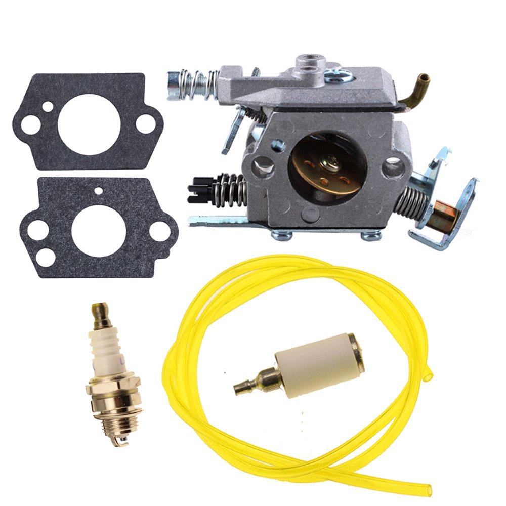 Hipa Carburetor With Repower Kits For Poulan 2200 2275 Pro Fuel Filter 2500 2600 2750 2775 2900 3050 Pp255 Pp295 Pp310 Pp315 Pp4620avl Pp4620avx Pp4620avhd Gas