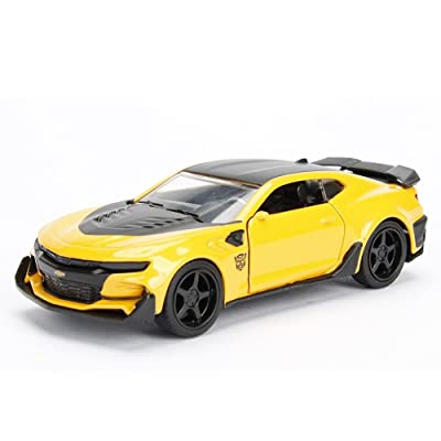 NewMum Bumblebee Toy Car Transformers5 JADA Toy - 2016 Chevrolrt Camaro 98393 1:32 W/B Metals: Toys & Games