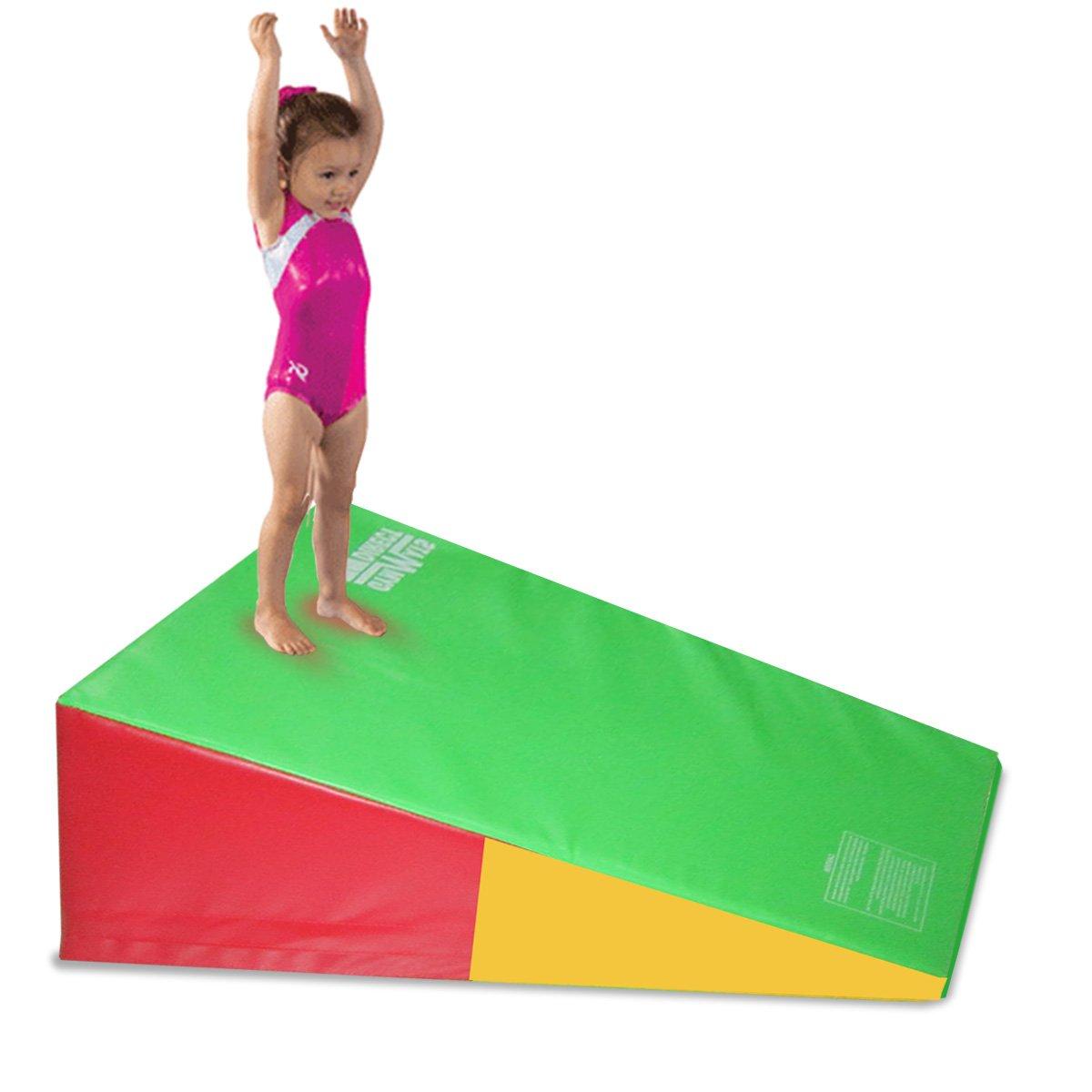 gymmatsdirect Non-Folding Gymnastics Incline Mat